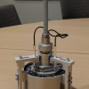 Special device for asphalt pavement shear properties testing